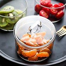 N-B Storage Jar Cereal Dispenser 3-layer Glass