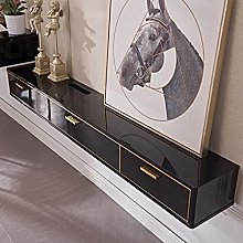 N / B TV Floating Stand Cabinet Router Storage