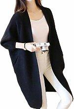 N-B Women Long Cardigans Autumn Winter Stitch