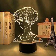 N+C Acrylic 3D Night Lighting Anime Figure