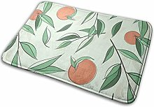 N/C Door Mats Oranges Fall With Leaves Non-Slip
