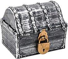 N C Kids Pirate Treasure Chest,Treasures
