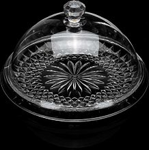 N / C Transparent Cake Stand Dome Lid Cover Cake