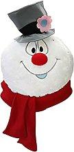 N% Christmas Decoration Snowman Plush Doll Window