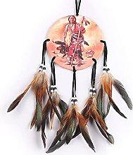 N/ Dream Catchers Handmade 50Cm Oil Painting Totem