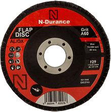 N-Durance 115 x 22 - 60 Grit Aluminium Oxide Flap