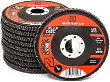 N-Durance 115 x 22 - 80 Grit Aluminium Oxide Flap