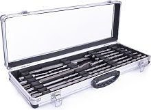 N-Durance SDS+ 12 Piece Quad Tipped Drill Bit and