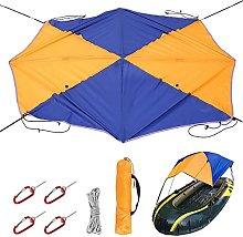 N/E. 4 Persons Boat Sun Shade Shelter Foldable