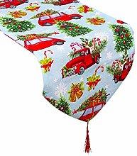 N/F 180x35cm Table Runner Christmas Table Flag