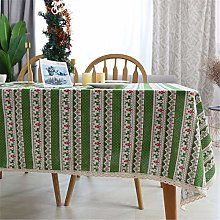 N/G Christmas Cotton And Linen Tablecloths,
