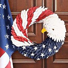 N/J Christmas Wreath, American Eagle Wreath,
