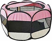 N/J Dog Playpens Large, Pet Octagonal Tent, Pet