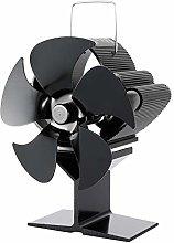 N/J Fireplace Silent Stove Fan, Fireplace