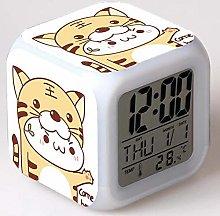 N/J for family Long Grass Jun Alarm Clock Led