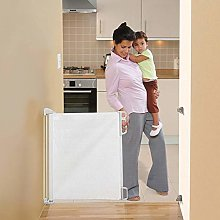 N/J Retractable Baby Safety Gate, Retractable
