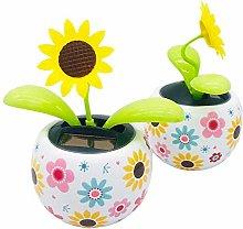 N/K 2PC Dancing Solar Toys Eco-Friendly Solar