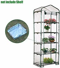 N/K Mini Greenhouse Plastic Cover Replacement Home