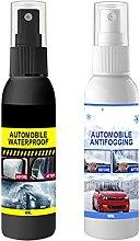 N.R 2pcs Car Glass Waterproof Coating Agent, Car