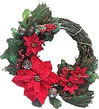N-R Christmas Wreath Artificial Door Wreath Pine