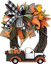 N.R Halloween Farmhouse Wreath Decorations Vintage