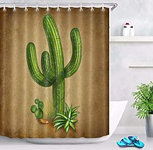 /N Tropical Green Cactus Mexican Symbol Shower