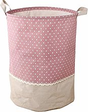 N/V Laundry Basket Waterproof Foldable Fabric