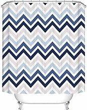 /N Waterproof Polyester Mildew Shower Curtain