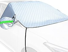 N-X Car Windshield Snow Cover for Ice, Snow and