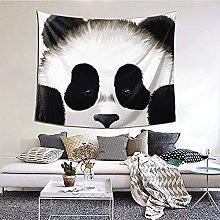 N-X Cute Panda Tapestry Wall Hanging print