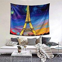 N-X Eiffel Tower Tapestry Wall Hanging print