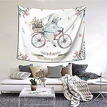 N-X Happy Easter Tapestry Wall Hanging print