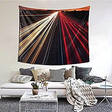 N-X Highway Light Tapestry Wall Hanging print