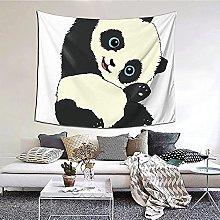 N-X Panda Tapestry Wall Hanging print tapestry