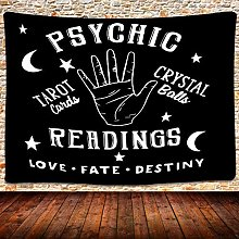 N-X Psychic Reading Tapestry Tarot Wall Hanging
