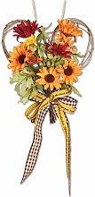 N/Y Autumn Simulation Sunflower Wreath