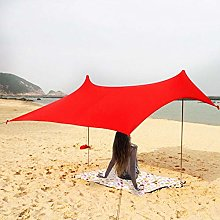 N/Y Large Beach Sunshade Tent, Lightweight