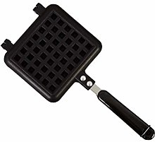N/Y Waffle maker pan cast iron stove top waffle