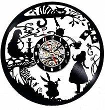 N/Z Alice in Wonderland Wall Clock Modern Design