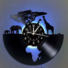 N/Z Home Decoration Animals Vinyl Record Wall