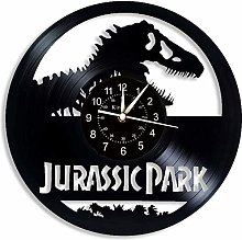 N/Z Jurassic Park Vinyl Record Wall Clock 12 -in