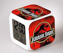 N/Z Movie Jurassic Park relogio digital led 7