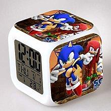 N/Z Sonic the Hedgehog LED 7 color changes Alarm