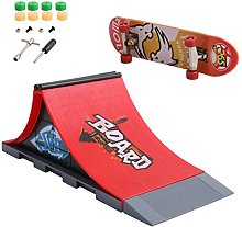 NA. Skate Park Ramp Parts for Tech Deck
