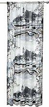 Naantali Curtain 140x250 cm grey
