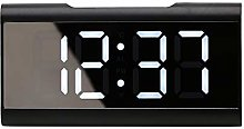 Nachar LED Mirror Alarm Clocks, Digital Alarm