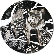 Nadja Wedin Design The French Dog – Trivet 21
