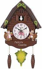 NAGT Cute Bird Wall Clock Cuckoo Alarm Clock,