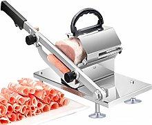 NAGT Manual Frozen Meat Slicer, Stainless Steel