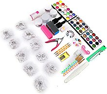 Nail Art Tool Set, with Abs Set Charms Gems Stones